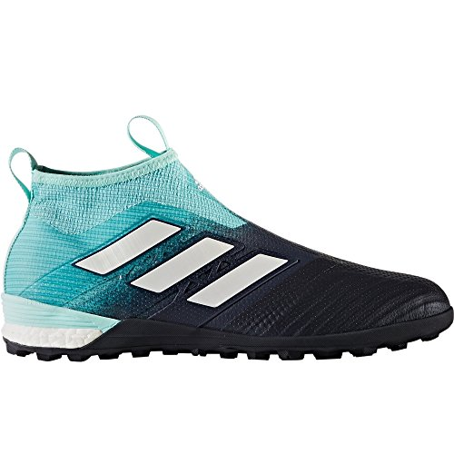 Adidas Homme Ace Tango 17+ Purecontrol Tf - (énergie Aqua / Blanc) Taille: 8