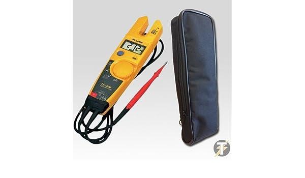 Fluke T5-1000 Digital multimeter CAT III 600V multímetro - Multímetros (30,5 mm, 51 mm, 203 mm, 300 g, AA, LCD): Amazon.es: Bricolaje y herramientas