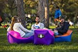 Inflatable Lounger Air Sofa by GrabbA chair