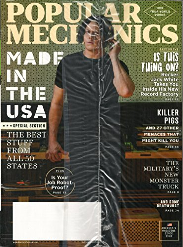 Popular Mechanics Magazine July/August 2017 | Made in the USA