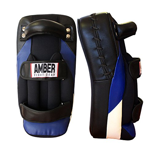Amber Fight Gear Gel Muay Thai Pads Adult by Amber Fight Gear