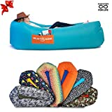 CHILLBO SHWAGGINS 2.0 Best Inflatable Lounger Portable Hammock Air Sofa and Camping Chair Ships Fast! Ideal Inflatable Couch, Beach Chair and Camping Accessories for Picnics & Festivals