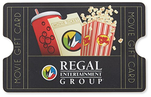 amazoncom regal entertainment 50 gift card in a gift box gift cards