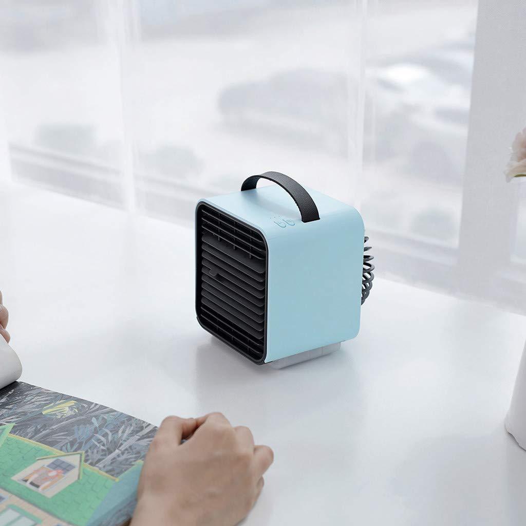 Timer e Telecomando Yaohxu Raffrescatore Rinfrescatore Ventilatore Umidificatore daria Air Cooler Massima Potenza Raffreddamento ad Acqua con serbatoio Ghiaccio Acqua