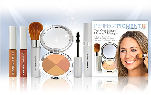 Perfect Pigment Cosmetics - Christina Cosmetics Perfect Pigment 4: FULL SIZE 7 PIECE KIT - For Deep Caramel to Darker complexions