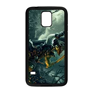 GTROCG Pirates of the Caribbean Phone Case For Samsung Galaxy S5 i9600 [Pattern-4]