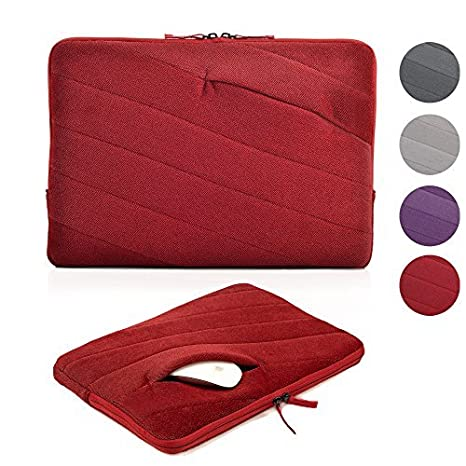 epgate-velvet capa de acolchado de espuma antigolpes 11 – 11.6 Inch Laptop/ Ordenador