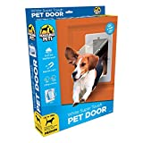 Hakuna Pets Super Tough Removable Dog & Cat Door w/Locks, Medium, White
