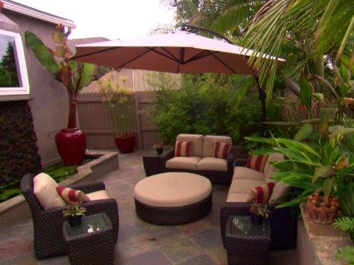 Backyard Patio Renovations (Patios Gardens Hgtv And)
