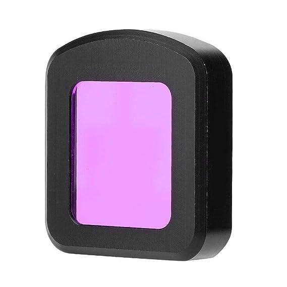 Rojo EBTOOLS/C/ámara de acci/ón Filtros de Lentes Subacu/áticos Filtro UV Resistente y Liviano para SJCAM SJ8 Air//Pro//Plus Sport Camera