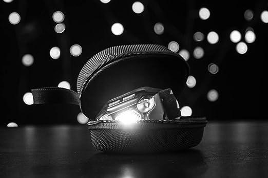 tama/ño peque/ño Unisex Adulto S fenix Apb-20 APB-20-Bolsa de Almacenamiento para Linterna de Cabeza Color Negro