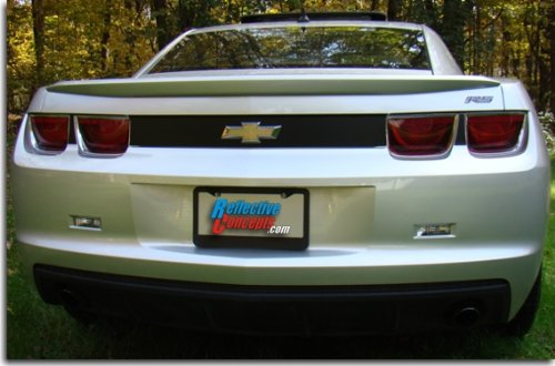 Rear Panel Blackout Decal - 2010-2013 Camaro - (Color: Flat - Panel Tail Camaro