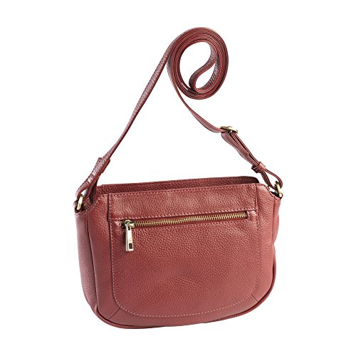 DE ROOY dR Amsterdam Schultertasche Mint Red 1103337