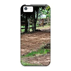 USMONON Phone cases Faddish Phone Beauty Of The White Horse Case For Iphone Iphone 5c / Perfect Case Cover