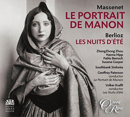 Price comparison product image Massenet: Le Portrait de Manon; Berlioz: Les Nuits d'ete