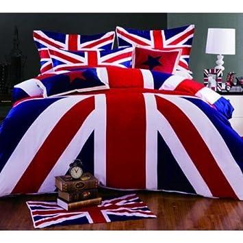Amazoncom Lightinthebox UK Flag Duvet Cover Set Bedding Set