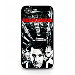 Phone Case Cover,Rock Hottest Rammstein Mainstream TPU Logo Phone Case Cover,Popular Iphone 4 Case Cover