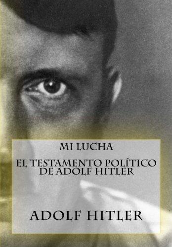 Mi Lucha testamento pol%C3%ADtico Spanish product image
