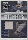 Football NFL 2008 Limited Team Trademarks Materials #1 Alex Karras MEM /100 Lions