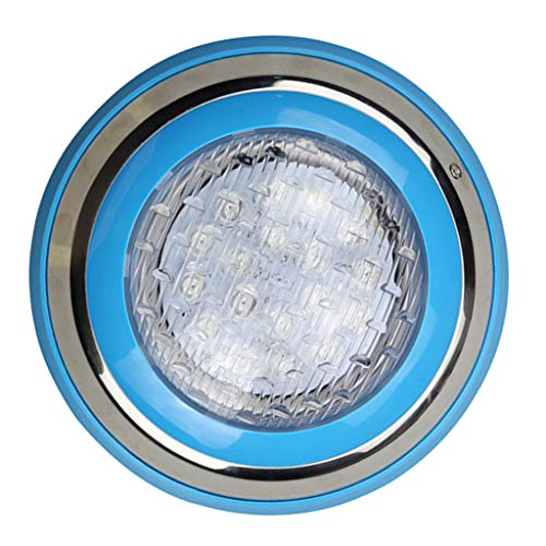Fityle Swimming Pool LED Light AC 12V/24V 9W/12W RGB Underwater Lights,Stainless Steel, IP68 Waterproof - 18 W by Fityle (Image #5)