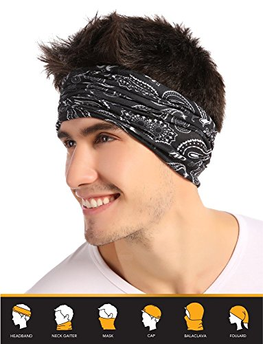 12-in-1 Bandana Headband - Versatile Outdoors & Daily Headwe