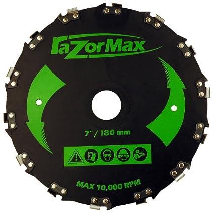 Amazon.com: Maxpower 12580 Cuchilla de Desbrozadora Max, 7 ...