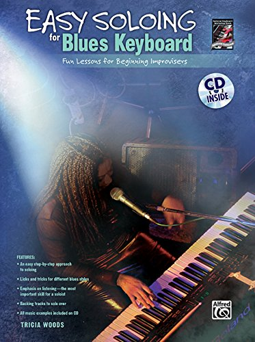 Easy Soloing for Blues Keyboard: Book & CD (National Guitar Workshop)