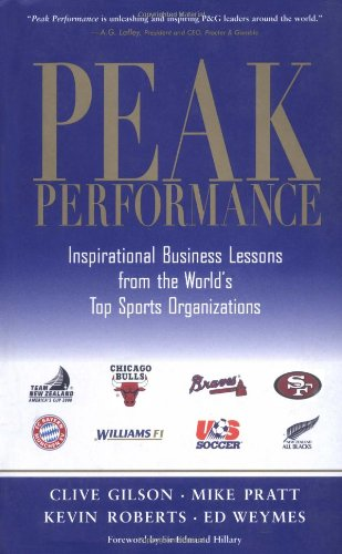 Peak Performance: Business Lessons from the World's Top Sports