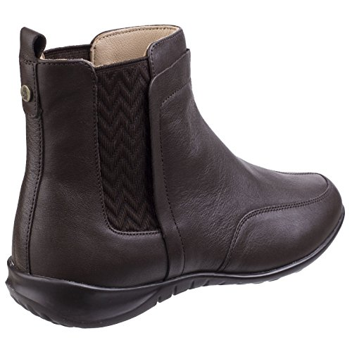 Boots Hush Dark Chelsea Lindsi Brown Women's Bria Puppies qXxrXPF