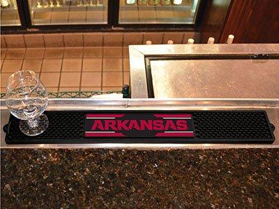University of Arkansas Drink Mat Arkansas Razorbacks Pub Table