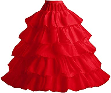 FuliMall Mujeres Enaguas Mujer Largas para Vestidos de Novia Boda ...