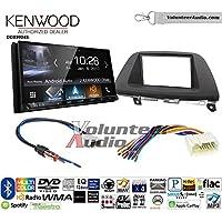 Volunteer Audio Kenwood DDX9904S Double Din Radio Install Kit with Apple CarPlay Android Auto Bluetooth Fits 2005-2007 Honda Odyssey