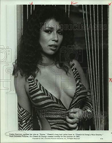 1981 Press Photo Evelyn Guerrero stars in Cheech & Chong's Nice Dreams.
