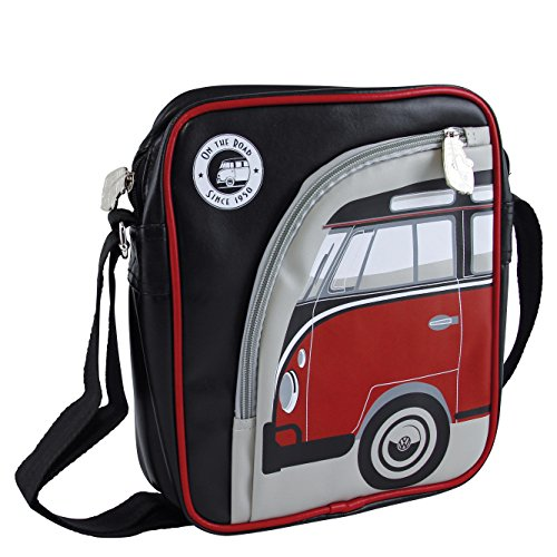 Vw Collection By Brisa Borsa A Tracolla, Rosso/Nero