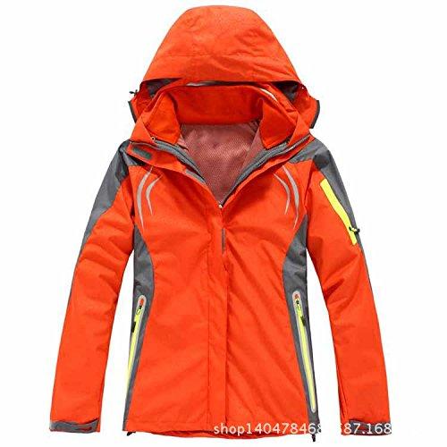 Dyf Lunghe Rivestimento Maniche Arancione Del Fym Giacche Zip Collare Uomini Di Colore Grandi Degli Impermeabili Cappotto Dimensioni Di 5w8I0
