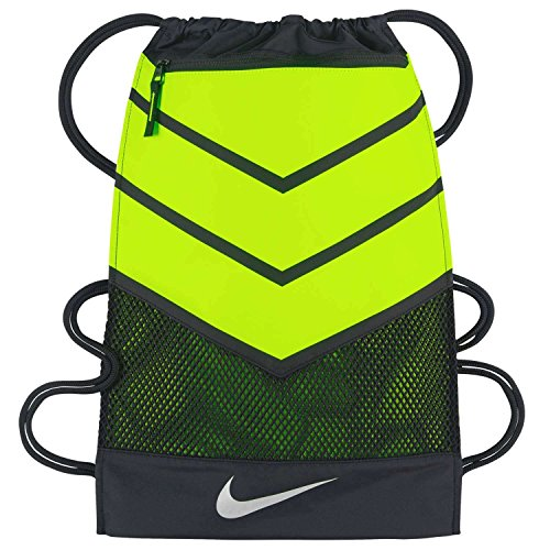Nike Vapor Drawstring Bag (Black/Volt)