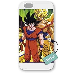 Onelee(TM) - Customized Dragon Ball Z iPhone 6 Plus 5.5 Hard Plastic case cover - White 15