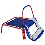 Jumping-Trampoline-Square-3-x-3-FT-Blue-Outdoor-Kids-with-Handle-Bar-and-Safety-Pad-Have-Fun-With-Jumping-Safely