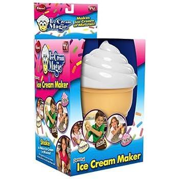 Amazon Com Ice Cream Magic Personal Ice Cream Maker