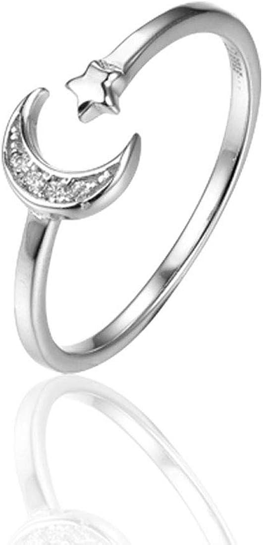 Women Tassel Finger Rings Engagement Wedding AAA Cubic Zirconia Fashion Jewelry