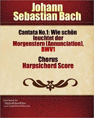 Songbooks free books download streaming ebooks and texts amazon kindle e books cantata no1 wie schn leuchtet der morgenstern fandeluxe Choice Image