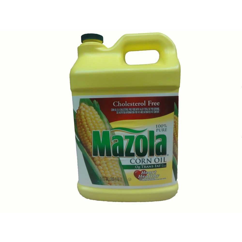 Mazola Corn Oil, 2.5 Gallon -- 2 per Case by Stratas Foods