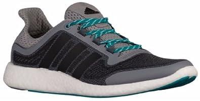 adidas Men s Pureboost 2 M Running Shoe Grey Black Equipment Green 7 ... 52be0a200318
