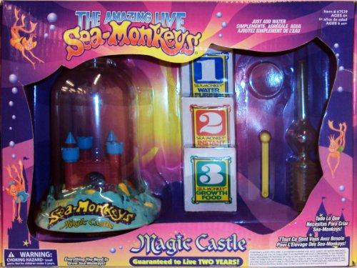 The Amazing Live Sea-Monkeys-Magic Castle