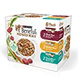 Purina Beneful Prepared Meals Beef Stew, Chicken Stew, And Savory Rice & Lamb Stew Adult Wet Dog Food Variety Pack - (6) 10 Oz. Tubs