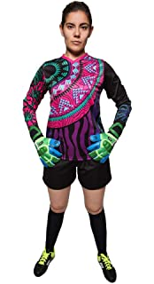 3b4fb589bb7 Amazon.com   Geko Sports Twister II Tie Dye Goalkeeper Jersey ...