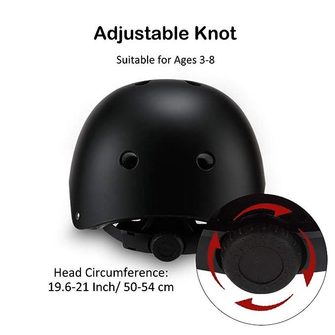 Amazon.com: Sarik - Juego de rodilleras de seguridad para ...