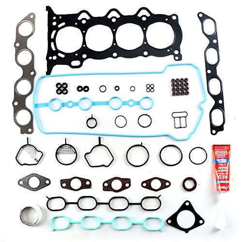 (SCITOO Cylinder Head Gasket Kits fit 00-15 Toyota Scion Yaris Echo xB 1.5L DOHC 16v Engine Cylinder Head Gaskets Automotive Replacement Gasket)