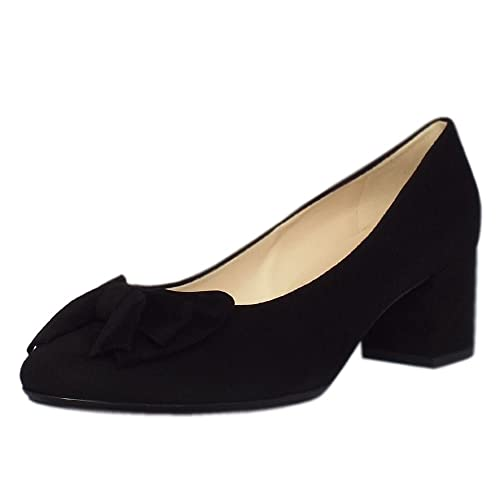 new style fine quality search for best Peter Kaiser Christiane Low Heel Wide Fit Shoes in Black ...