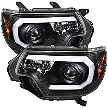 ACANII For 2012 2013 2014 2015 Toyota Tacoma LED Halo Projector Fog Lights w//Switch Assembly Driver /& Passenger Side